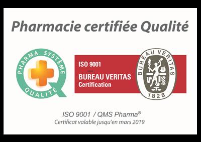 """Résultat de recherche d'images pour """"pharmacie certifiée qualité"""""""