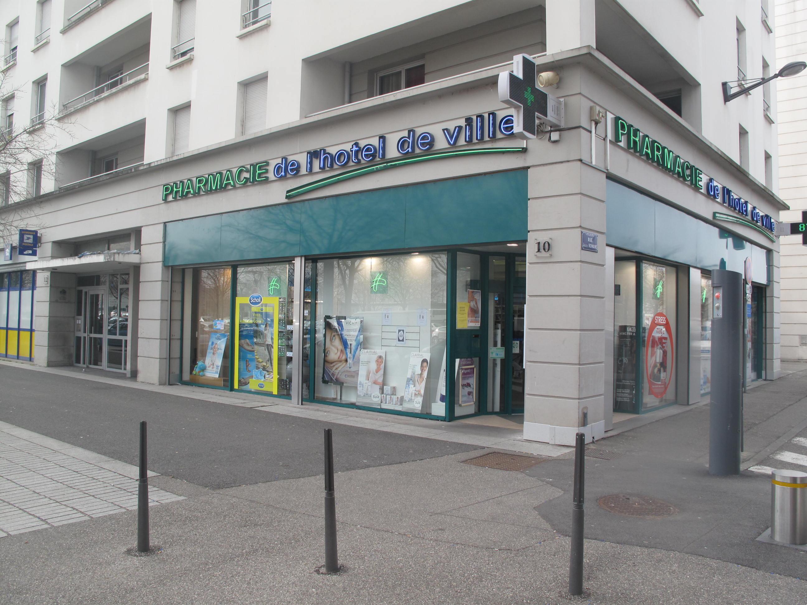 Pharmacie de l 39 h tel de ville vaulx en velin accueil for Pharmacie de la piscine
