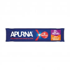 Apurna BARRE - CONSTRUCTION MUSCULAIRE CHOCOLAT ORANGE (40g)