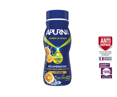 Apurna BOISSON DE RECUPERATION ORANGE (300ml)
