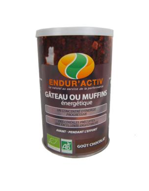 Endur'activ GÂTEAU ENERGETIQUE CHOCOLAT (200g)