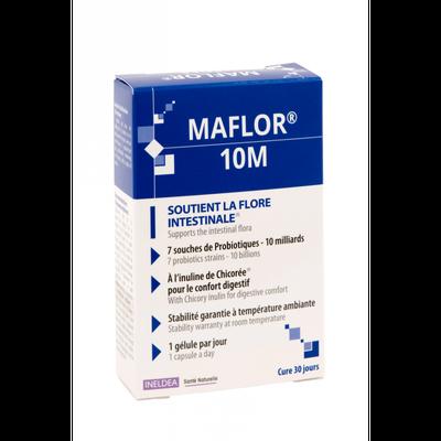 Ineldea MAFLOR 10 milliards de probiotiques (30 gélules, soit 1 mois de cure)