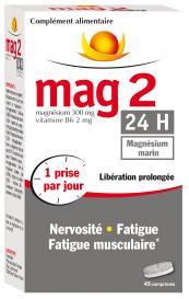 MAG 2 B6 24h (60 comprimés, soit 60j. de cure)