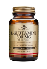 Solgar L-GLUTAMINE 500mg (50 gélules)