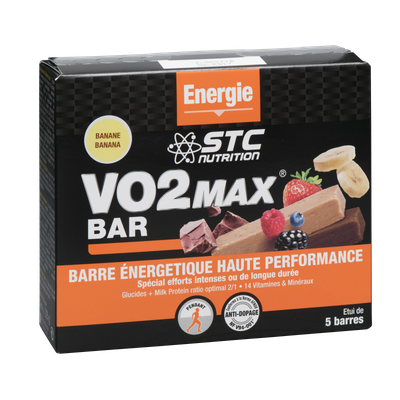STC Nutrition VO2 MAX BAR CHOCOLAT 45g (à l'unité)