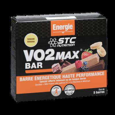 STC Nutrition VO2 MAX BAR FR. ROUGE 45g (à l'unité)