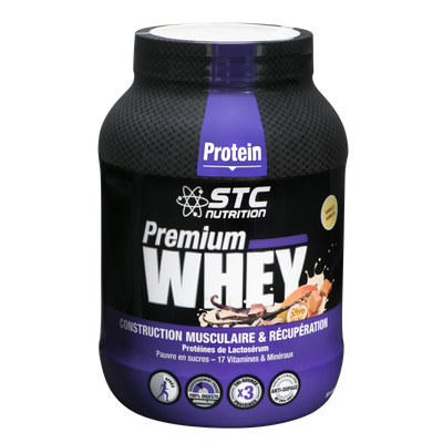 STC Nutrition PREMIUM WHEY VANILLE (750gr)