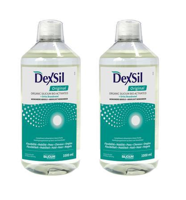 Dexsil ORIGINAL - SILICIUM ORGANIQUE solution buvable (lot de 2x1000ml)