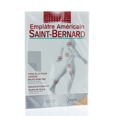 Emplâtre Américain SAINT BERNARD (1 plaque 190x300mm à découper)