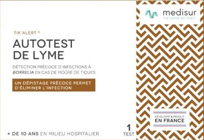 Medisur AUTOTEST DE LYME (1 test)