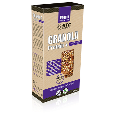 STC Nutrition GRANOLA PROTEIN+ (425g)