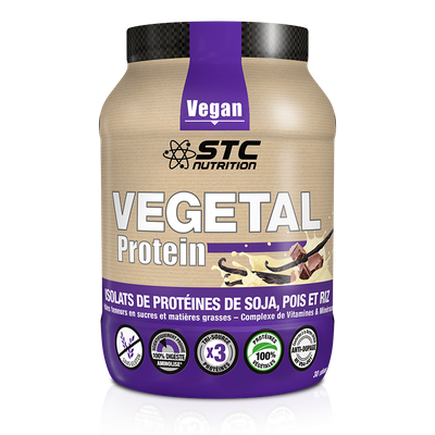 STC Nutrition VEGETAL PROTEIN CHOCOLAT (750g)