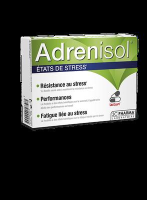Les 3 chênes ADRENISOL (30 gélules)