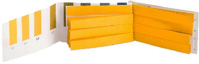 Lereca PAPIERS SPECIAUX PH URINAIRE (36 bandelettes, échelle 5,2 - 7,4)