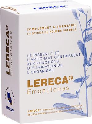 Lereca EMONCTOIRES (14 sachets sticks)