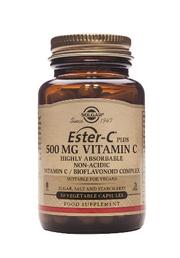 Solgar ESTER-C plus VITAMINE C 500mg (50 gélules végétales)