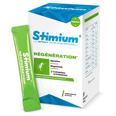 Stimium REGENERATION (20 sticks de poudre à diluer goût menthe)