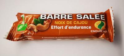 Endur'activ BARRE SALEE NOIX DE CAJOU (25g)
