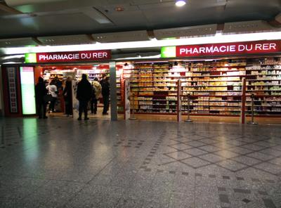 Pharmacie du R.E.R. - Vue générale