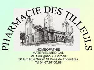Pharmacie des Tilleuls - Vue générale