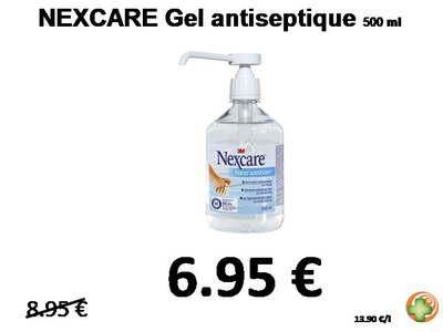 NEXCARE gel antiseptique 500 ml
