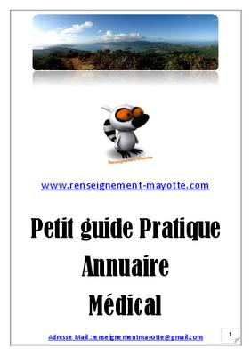 Annuaire médical de Mayotte