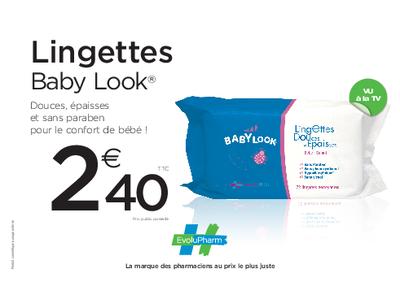 Babylook lingettes