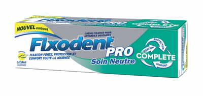 FIXODENT PRO CR ADH NEUTRE 40ML