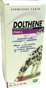 DOLTHENE CHIEN L SUSP FL 100ML