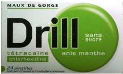 DRILL ANIS MENTHE PAST S/S 24