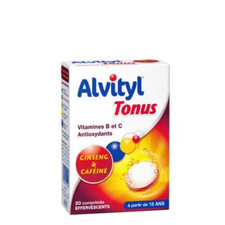 ALVITYL TONUS EFFERVESCENT CPR 20