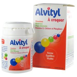 ALVITYL COMPRIMER  A CROQUER 40