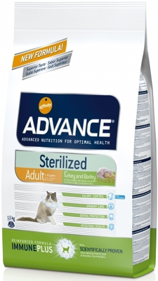 ADVANCE CAT STERILIZED 3KG