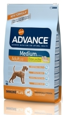 ADVANCE DOG MEDIUM ADULT 3KG