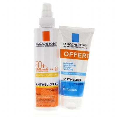 Roche Posay Anthelios XL 50+ Spray 200 ml + Après-Soleil offert