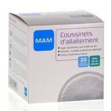 MAM COUSSINETS D'ALLAITEMENT 30
