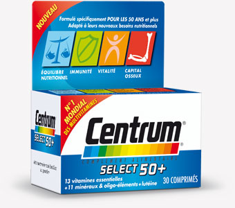 CENTRUM SELECT 50+ CPR 60