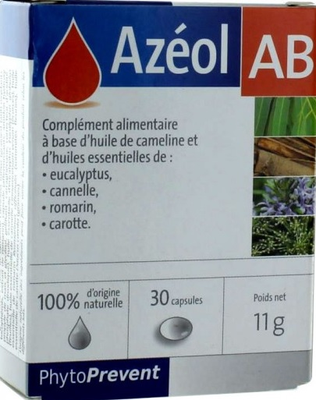 AZEOL AB CAPS 30