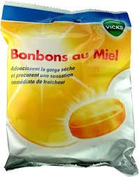 VICKS BONBONS MIEL SACHET 75G