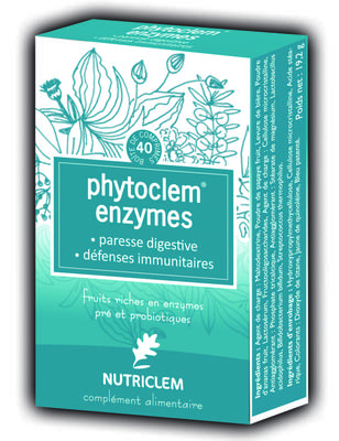 PHYTOCLEM FRUCT/ENZYM FERMENTS LACTIQUES probiotix CPR40