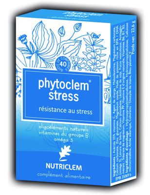 PHYTOCLEM RESISTANCE AU STRESS 40 comprimés