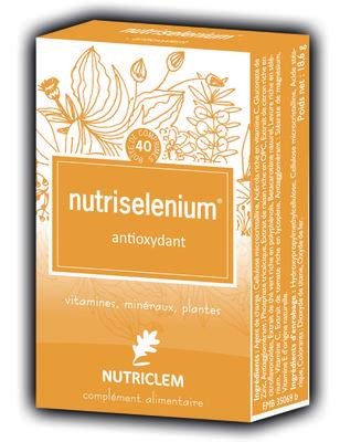 NUTRISELENIUM Antioxydant 40 comprimés