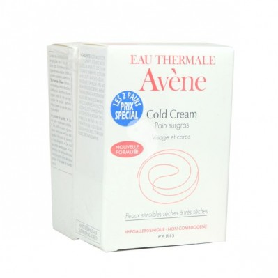 AVENE PAIN COLD CREAM PEAUX SENSIBLES 100GX2