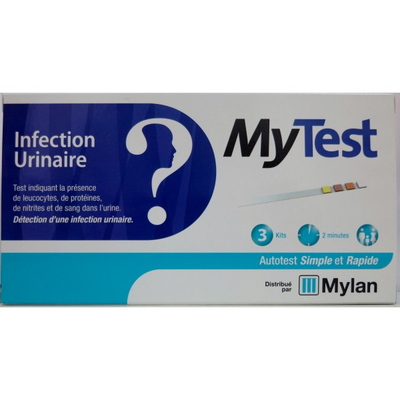 MY TEST INFECTION URINAIRE