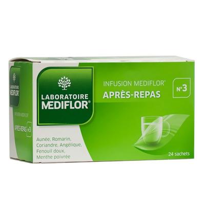 MEDIFLOR INFUSION N3 APRES REPAS SACHET 24