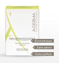 A-DERMA PAIN DERMATOLOGIQUE LAIT AVOINE 100G