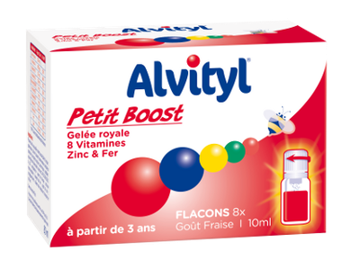 ALVITYL PETIT BOOST FL10ML X8