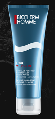 BIOTHERM HOMME T-PUR NETT/PURIF 125ML