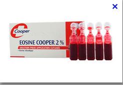 EOSINE AQUEUSE 2% COOPER 2ML 10