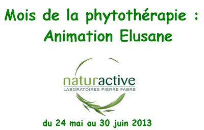 Du 24 mai au 30 juin mois de la phytothérapie